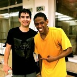 At Broadway Dance Center with Jared Grimes